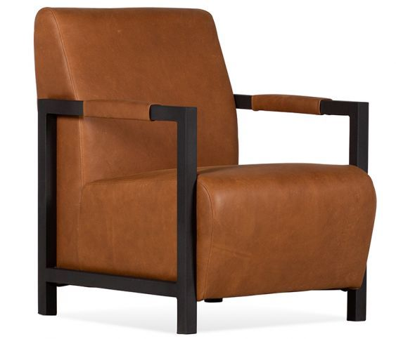 Best Beck Accent Chair Cera Cognac Leather With Images 400 x 300