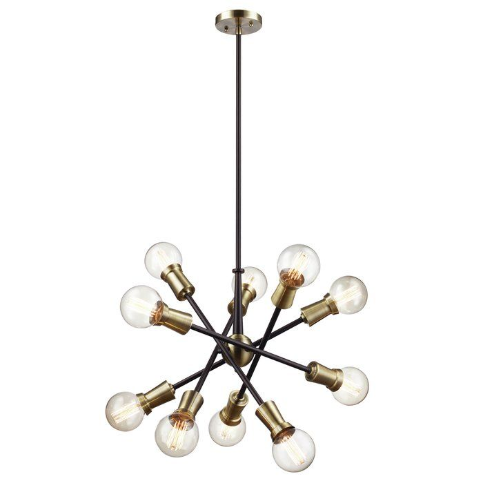 This chandelier provides abundant light to your home\'s interior ...