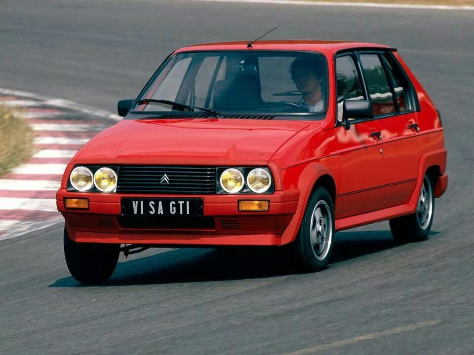 Citroen Visa GTI | Cars, just cars. Oh, and some bikes too ...