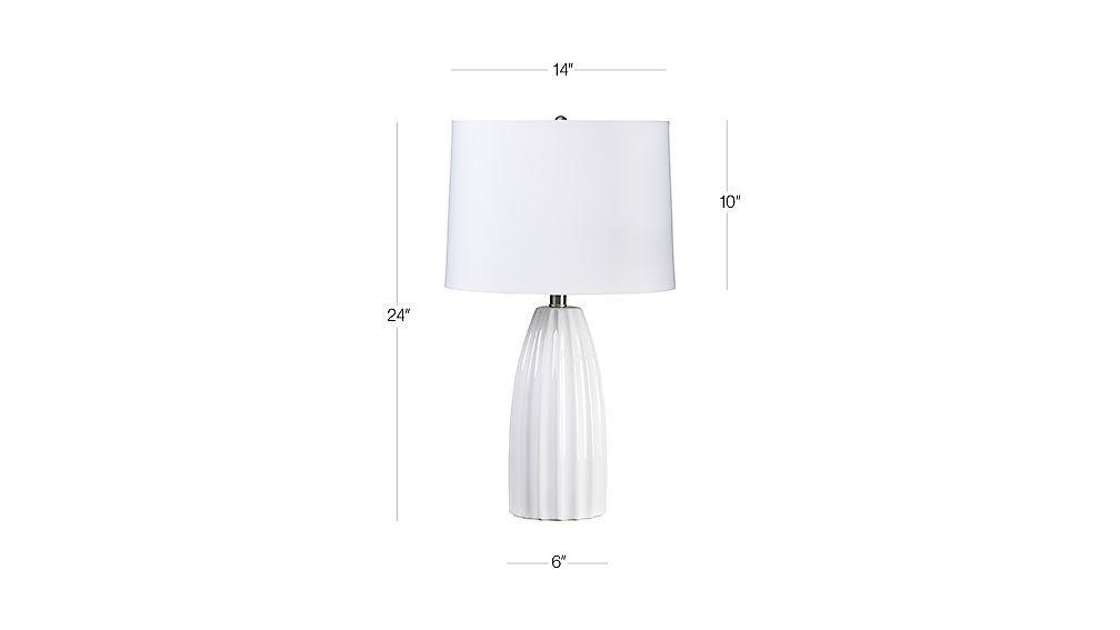 Ella White Table Lamp Dimensions White Table Lamp Lamp Table Lamp