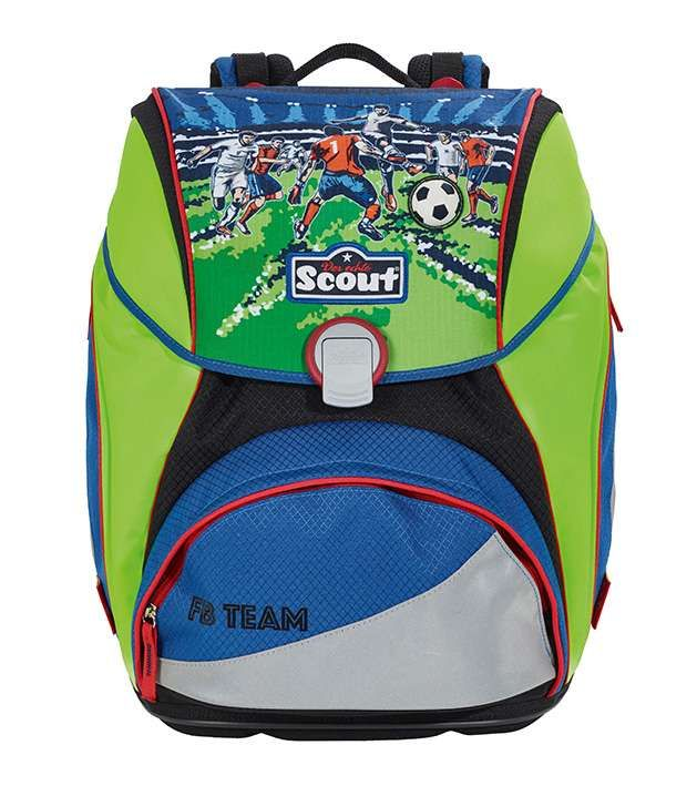 scout alpha fb team schulranzen f r jungen backpacks. Black Bedroom Furniture Sets. Home Design Ideas