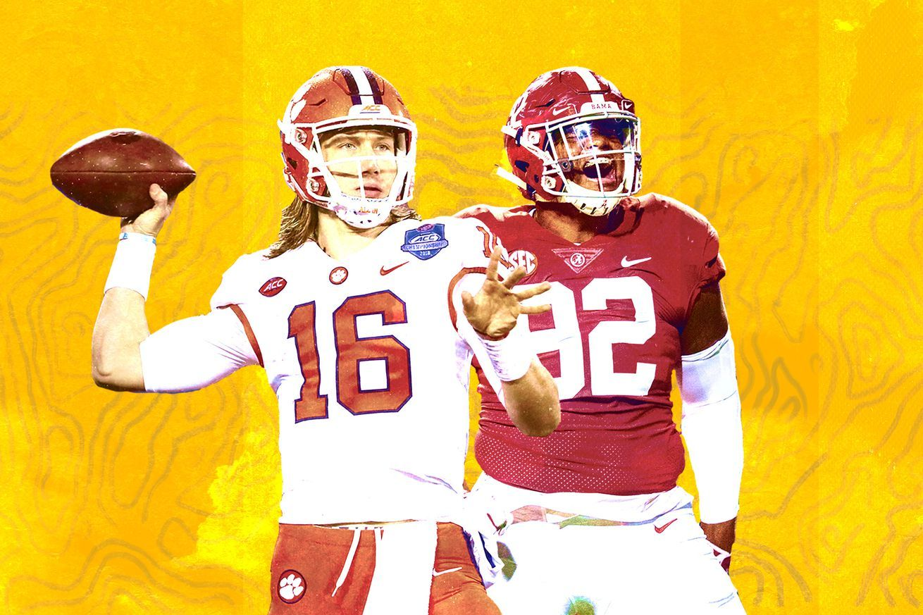 The National Championship advanced tale of the tape