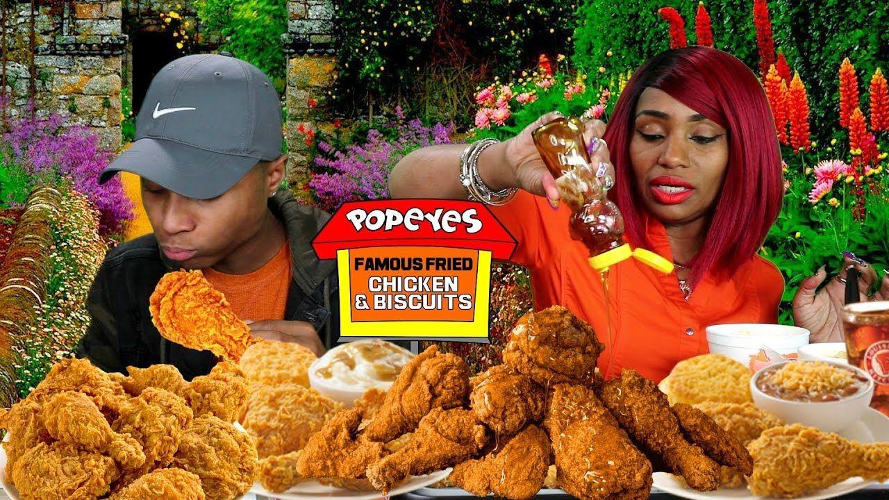 Eating Popeyes Biscuit Meme