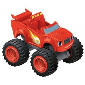 Blaze And The Monster Machines Blaze Die Cast From Fisher Price