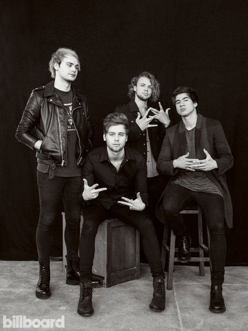 5 Seconds Of Summer Billboard Cover Shoot 5 Seconds Of Summer