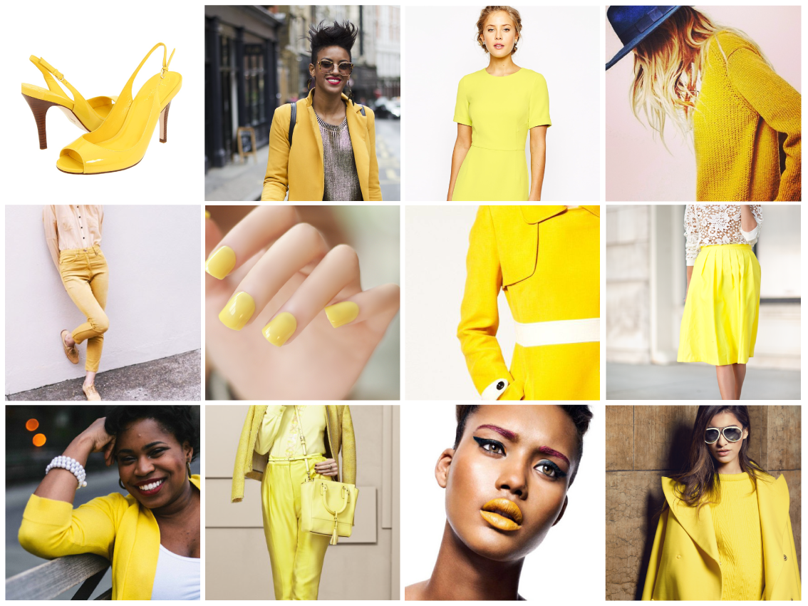 Dress the individuals – Colour Trend Hello Yellow
