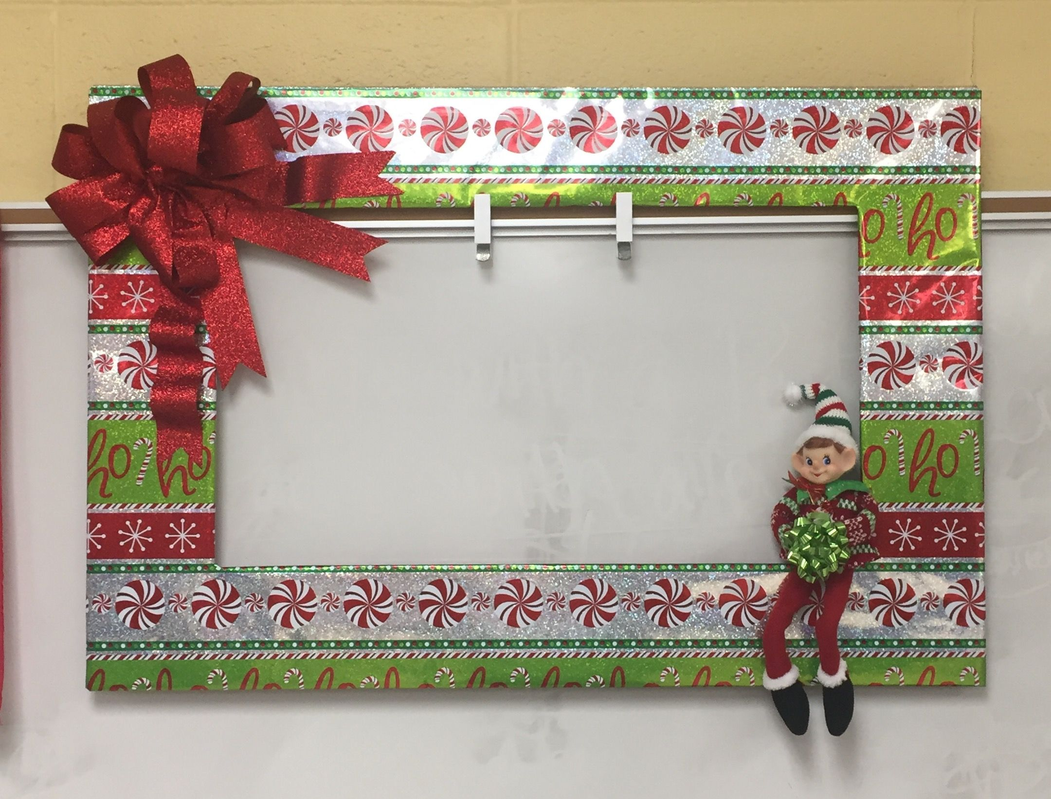 Classroom Door Selfie With An Elfie