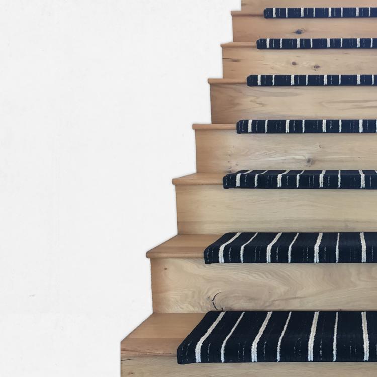 Oak Valley Designs Custom Carpet Stair Treads Carpet   Custom Oak Stair Treads