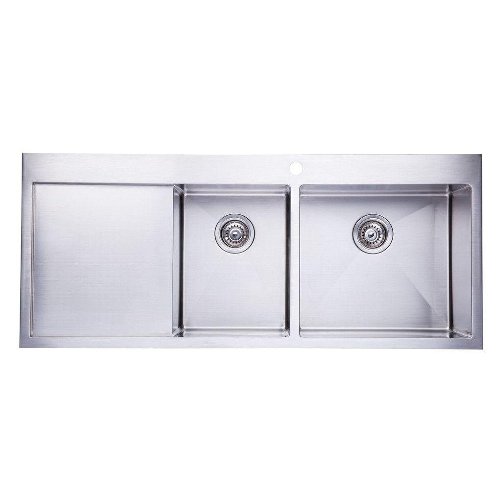 Bai 1234 Stainless Steel 16 Gauge Kitchen Sink Handmade 48 Inch