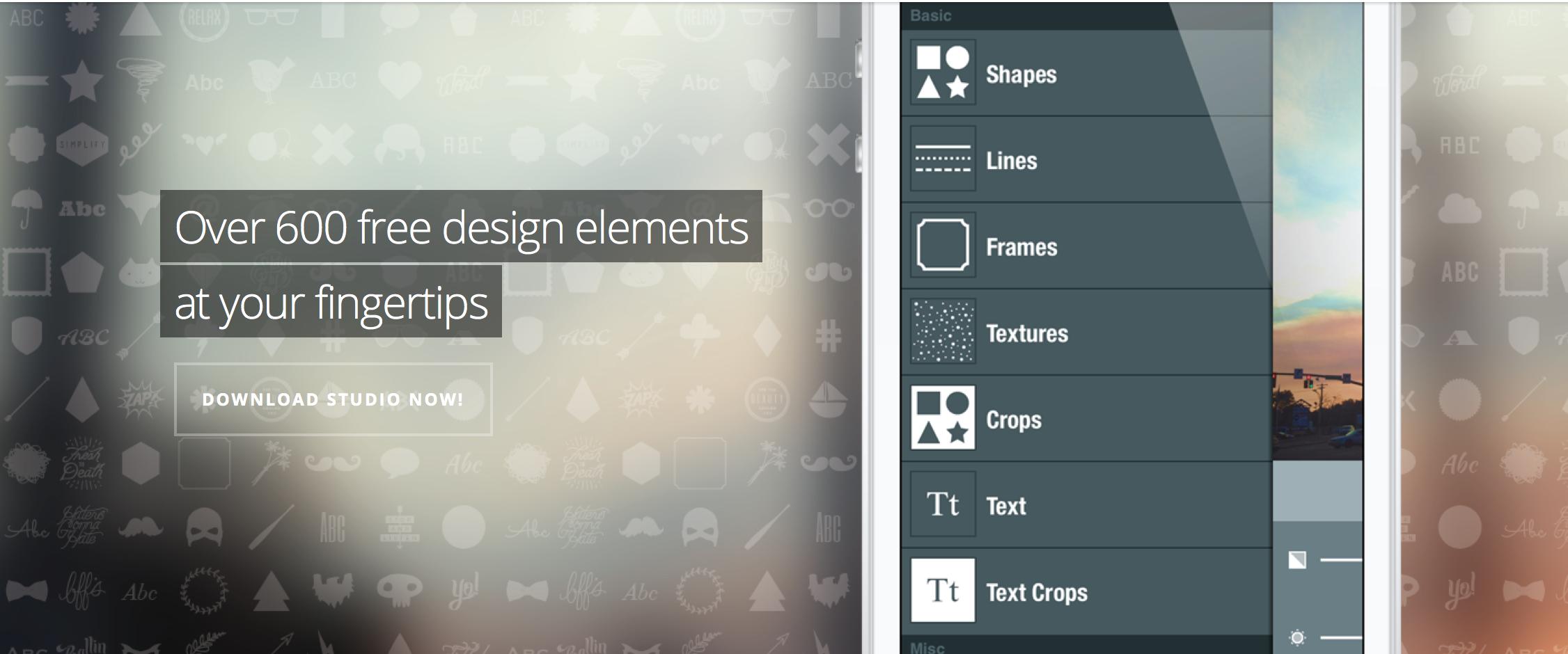 Remplacer ou compléter Instagram, vous trouverez forcément une utilité à Studio design.