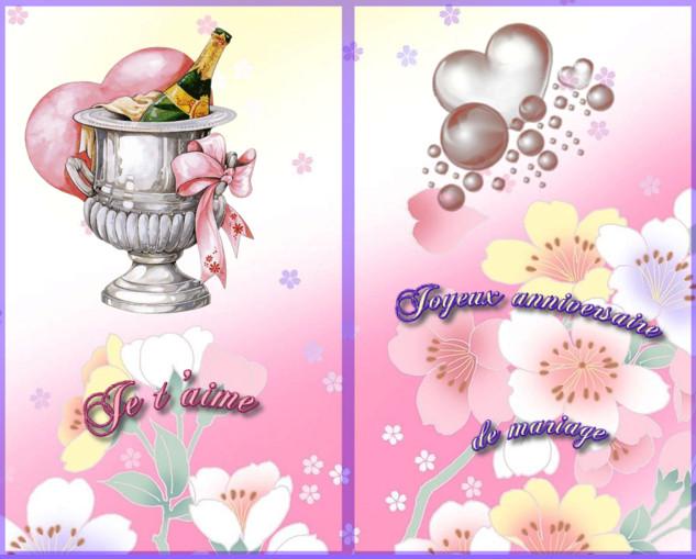 Carte D Anniversaire De Mariage A Imprimer Elegant Cartes Gratuites Cartes A Imp Carte Anniversaire De Mariage Carte Anniversaire Carte Anniversaire A Imprimer