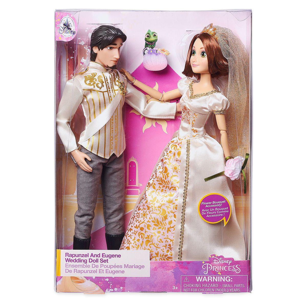 Rapunzel And Eugene Classic Wedding Doll Set Tangled Ever After Wedding Doll Rapunzel Rapunzel And Eugene