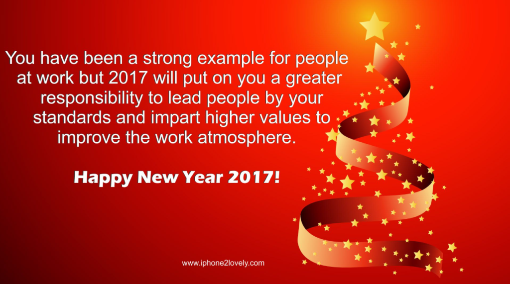 New Year Wishes For Work Colleagues | Happy New Year 2018 ...