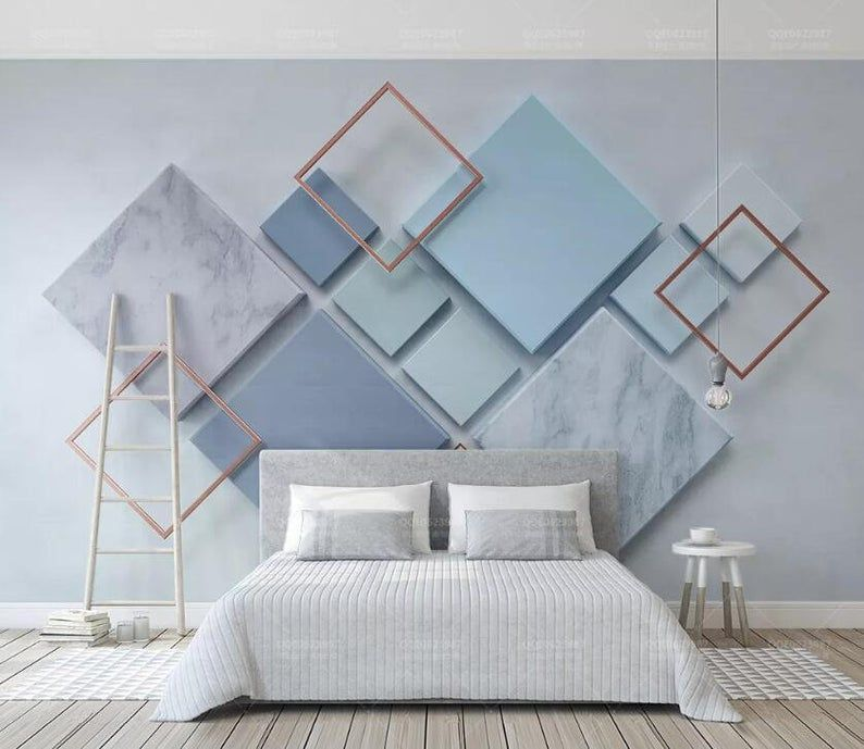 3D Shape A2887 Removable Wallpaper Self Adhesive Wallpaper Extra Large Peel & Stick Wallpaper Wallpa