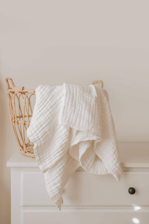 Gauze Blanket (White)
