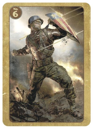 FIRST AVENGER Trading Card #6