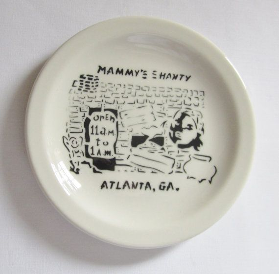 MAMMY'S SHANTY 1960 Sterling Restaurant China Atlanta Georgia - I do remember eating here.
