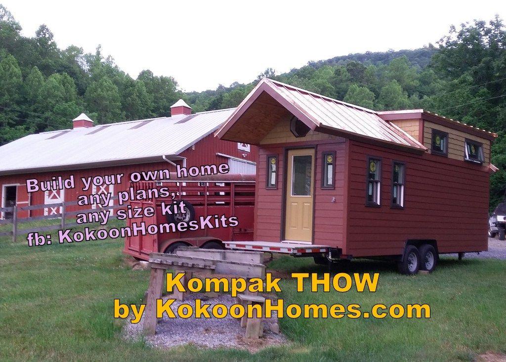 Copper Roof Tiny House Kokoon