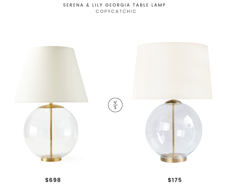 Daily find serena lily georgia table lamp copycatchic