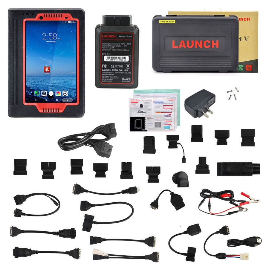 "USA Shipping Launch X431 V 8"" Tablet Wifi/Bluetooth OBD2"