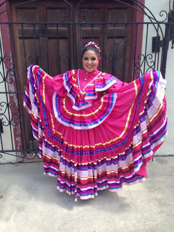 My dress for our Jalisco dance | Baile Folklorico | Pinterest | Dancing