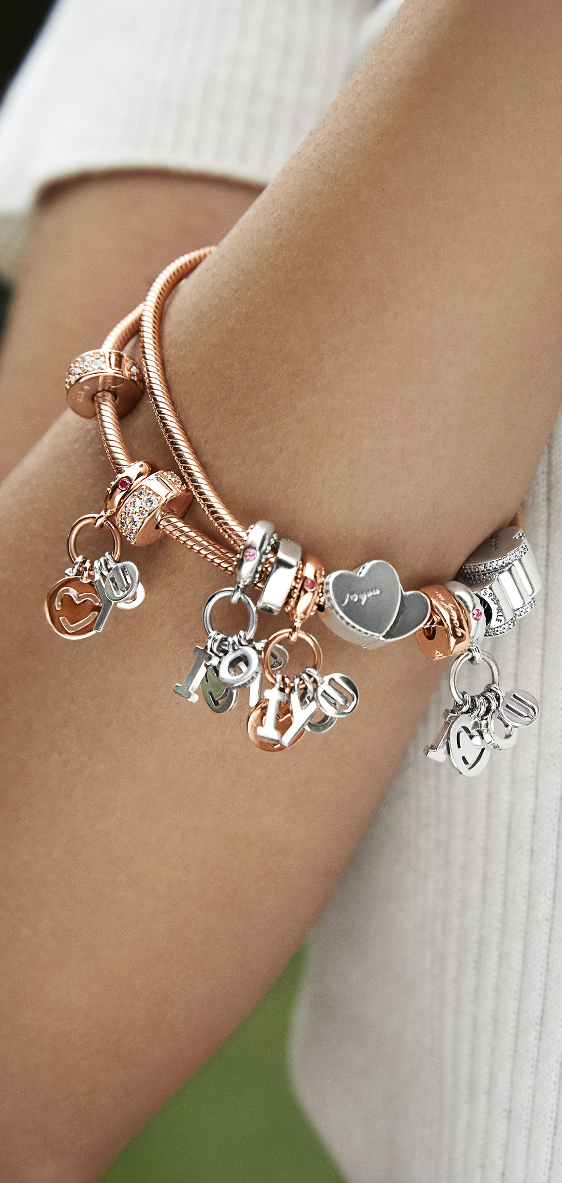cb58c8905 Three words, two hearts, one meaning. Write the story of you and your  special someone this Valentine's Day with PANDORA's new charms and bracelets .
