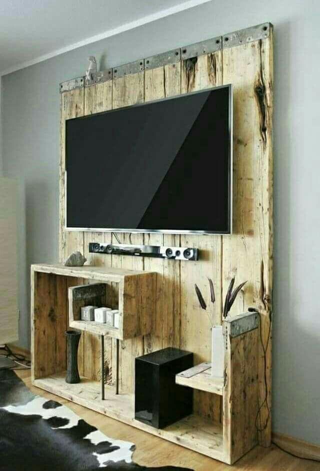Wohnzimmer Fernsehwand Wohn Design Wohnen Haus Deko