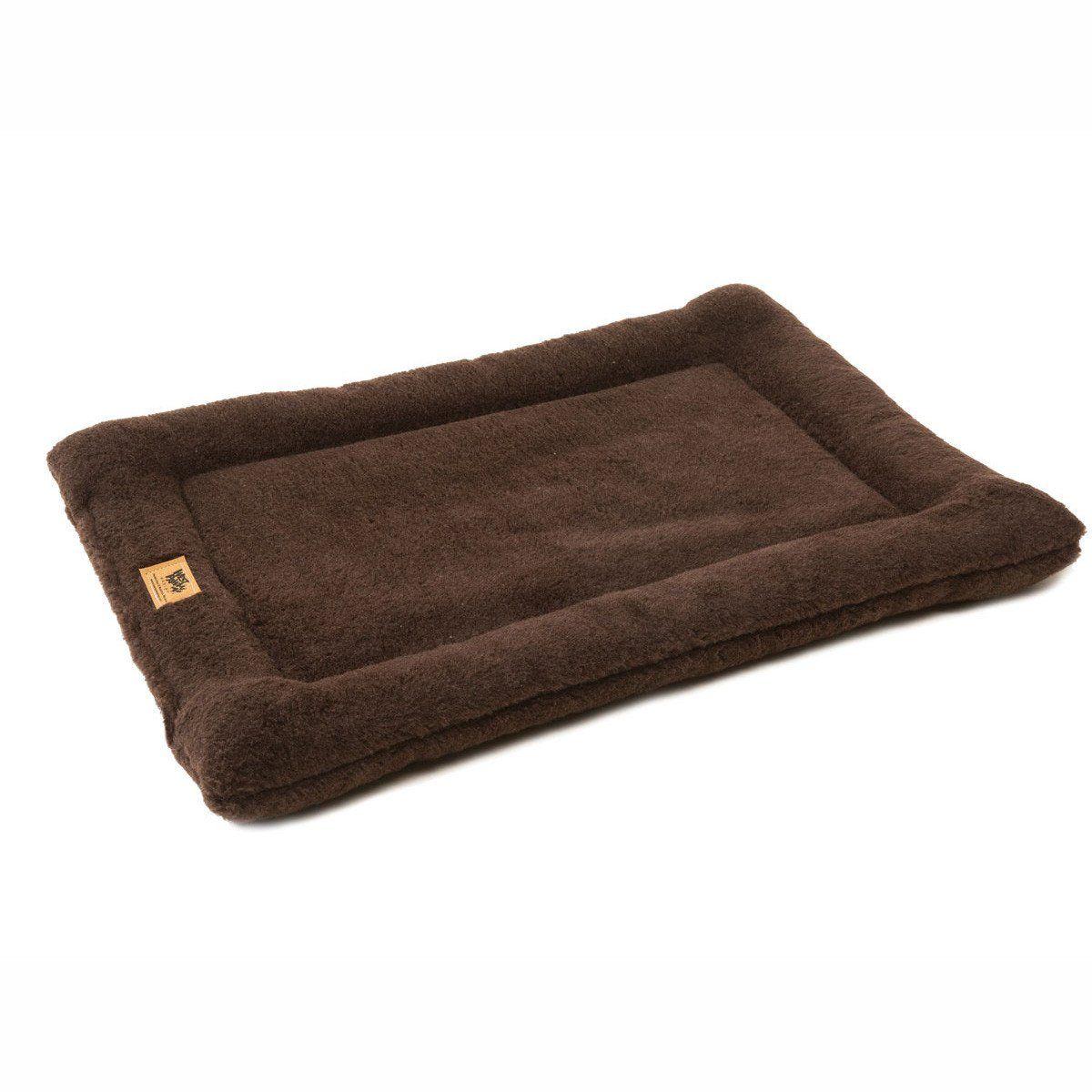 montana chocolate nap dog bed crate pad dog beds montana and crates