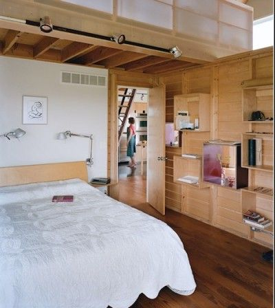 Inspirational images and photos of Bedrooms, Plywood : Remodelista