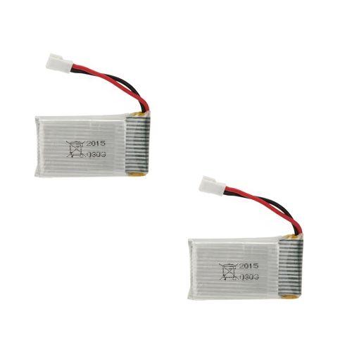 2Pcs Upgrade High Power 3.7V 650mAh Lipo Battery for SYMA X5C X5C-1 X5 JJRC H5C RC Quadcopter