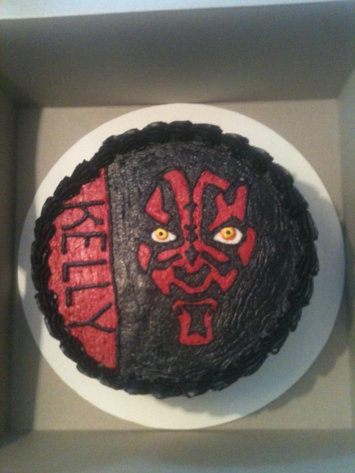 Darth Maul Birthday Cake Star Wars Pinterest Darth Maul