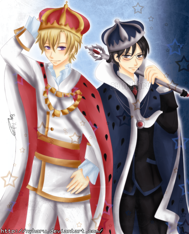 Ouran Two Kings by on deviantART