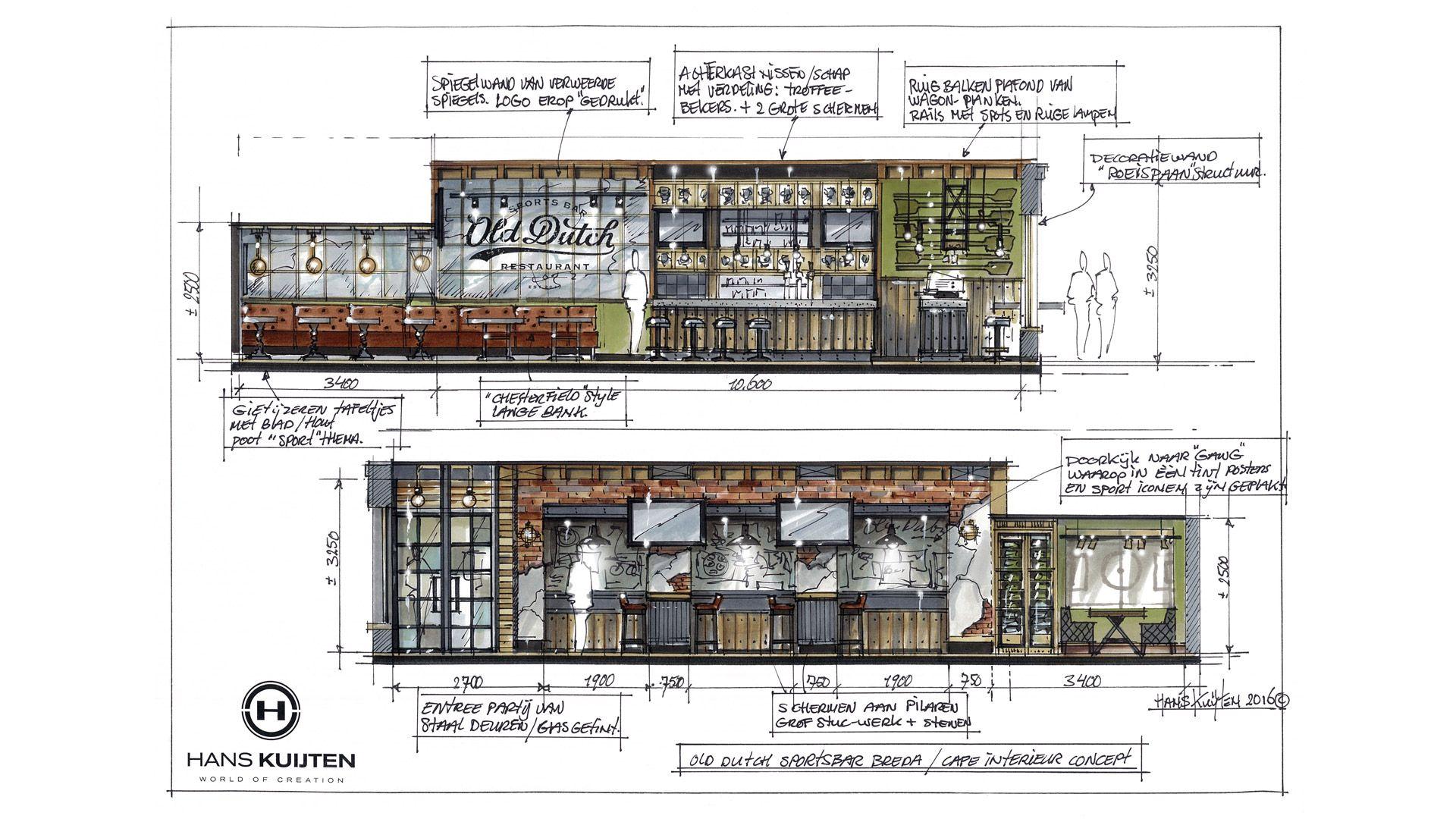 Sportsbar Old Dutch   Interior design website, Decor ...