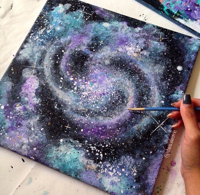 галакси рисунки своими руками идет какие