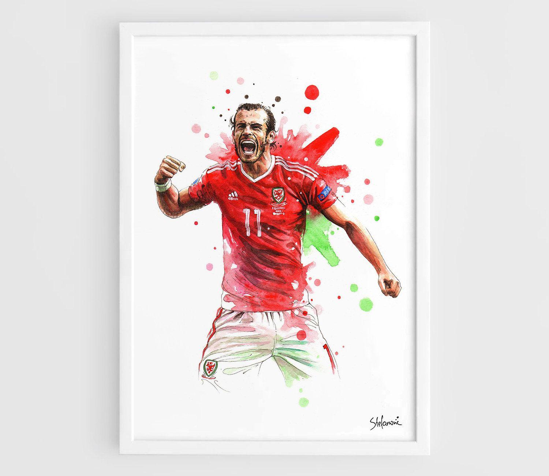 Joe Allen Wales Euro 2016 Poster Football Player Photo Sport Star Picture Print