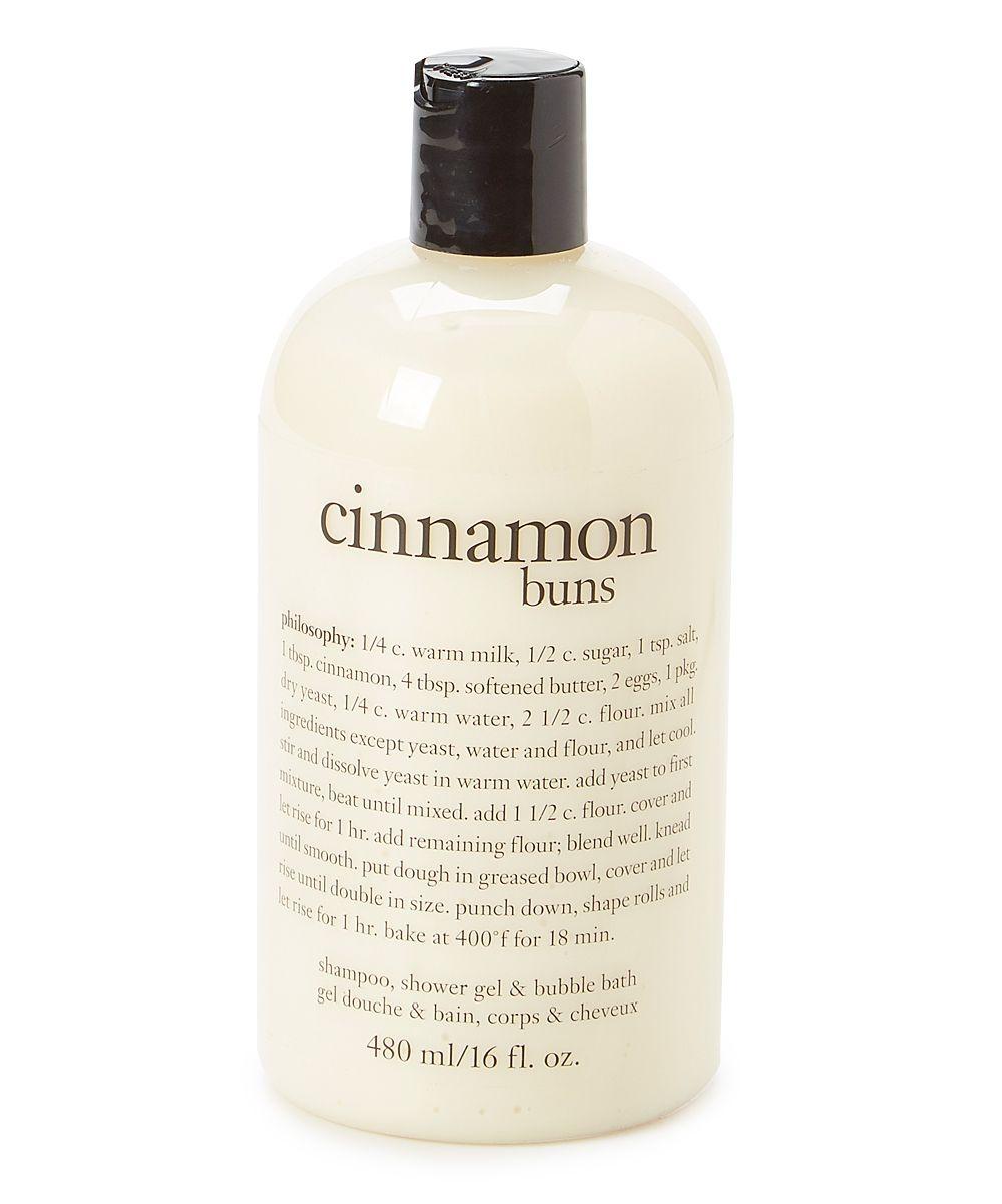 Cinnamon Buns 16-Oz. 3-in-1 Shampoo Shower Gel & Bubble Bath