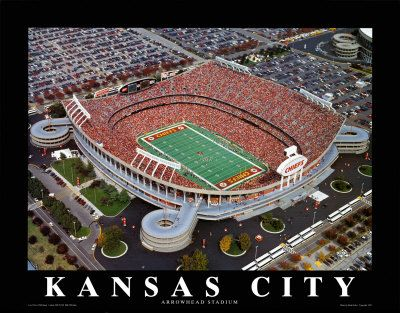 Arrowhead Stadium Kansas City Chiefs Football Kansas City Arrowhead Stadium