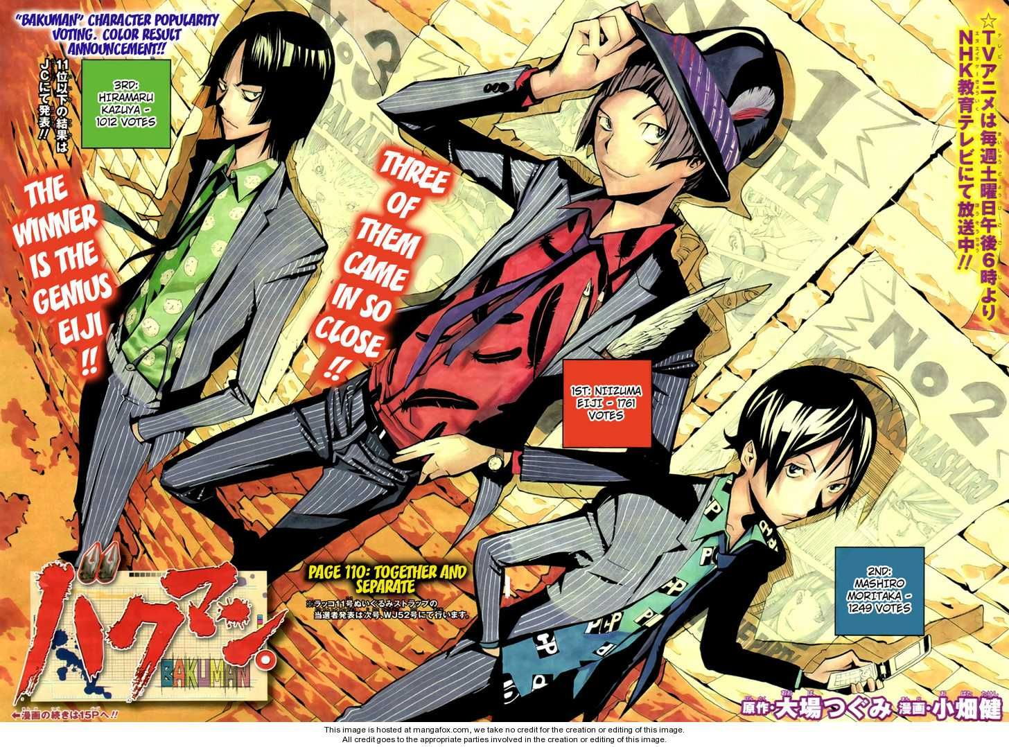 Bakuman 110 Together And Seperate at MangaFox.me Anime