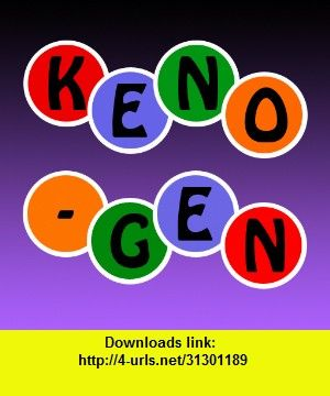 Keno-Gen HD, iphone, ipad, ipod touch, itouch, itunes, appstore, torrent, downloads, rapidshare, megaupload, fileserve
