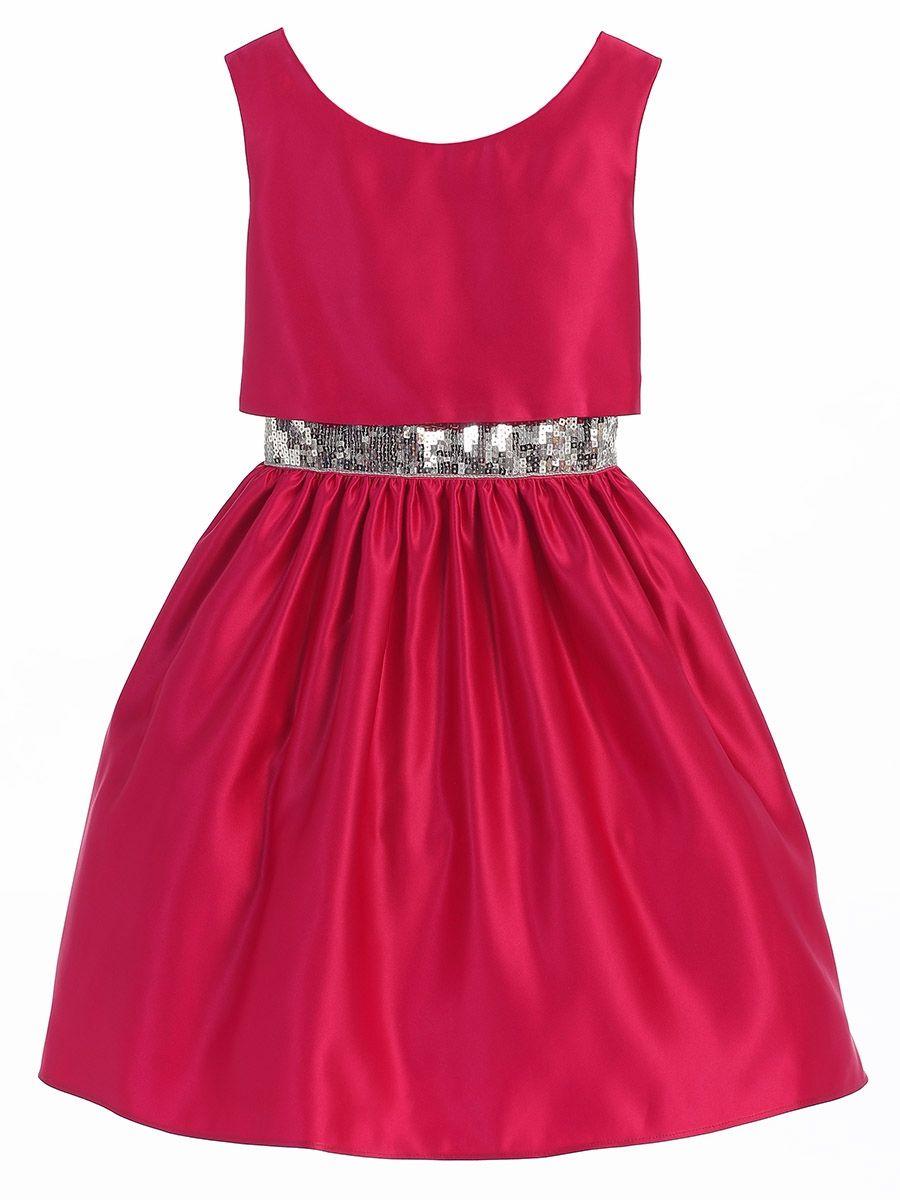 f58e30975 Bonnie Jean Big Girls Royal Blue Criss-Cross Tea-Length Christmas Dress  7-16 | Christmas Dresses! | Pinterest