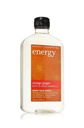 Orange Ginger Body Shine Shampoo Aromatherapy Bath And Body Works Bath And Body Body Works