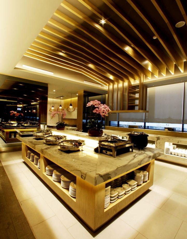Swiss belinn hotel at simatupang by metaphor interior for Buffet design