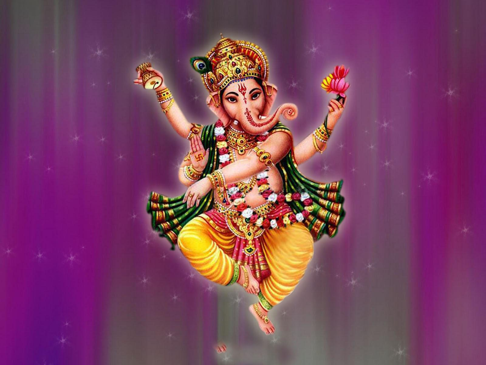 Ganesha Dancing Ganesha God â HD Wallpapers Desktop