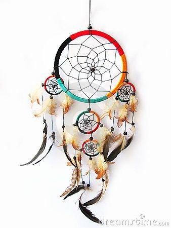Dreamcatcher isolou-se no branco
