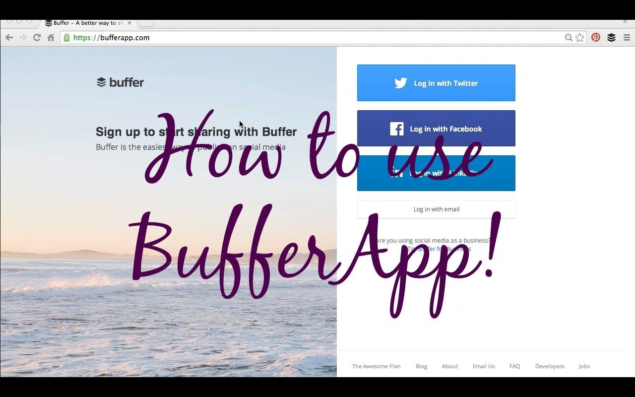 Younique Business Kit - How to use BufferApp!