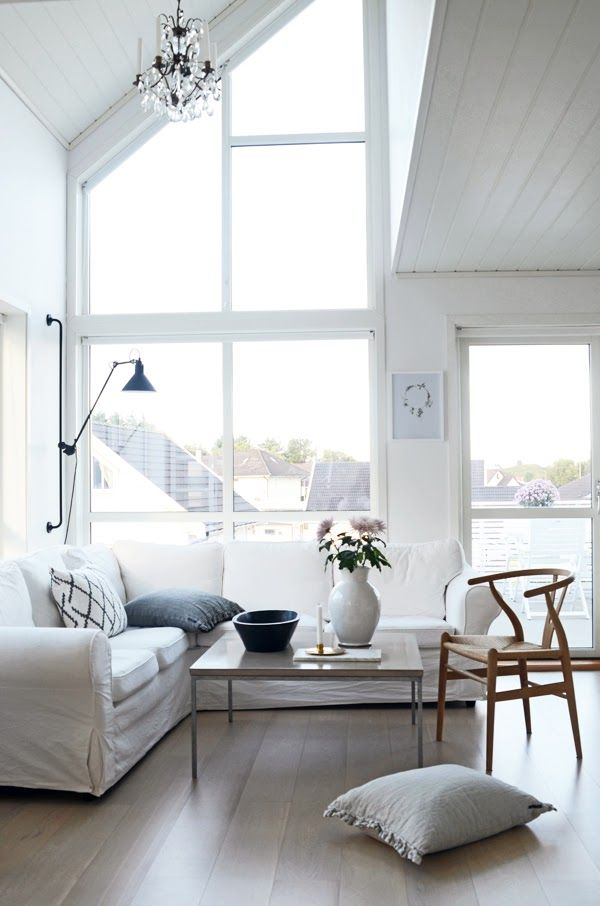 windows, lamp + wishbone chair | home by linn