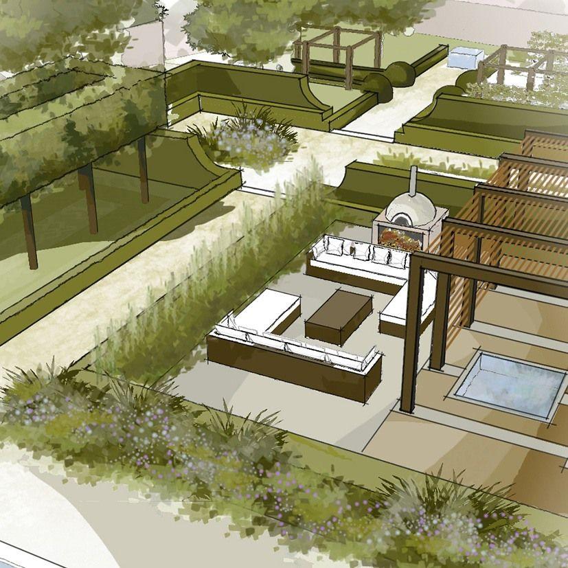 Coach House Norfolk By Thomas Hoblyn Suffolk Garden Design