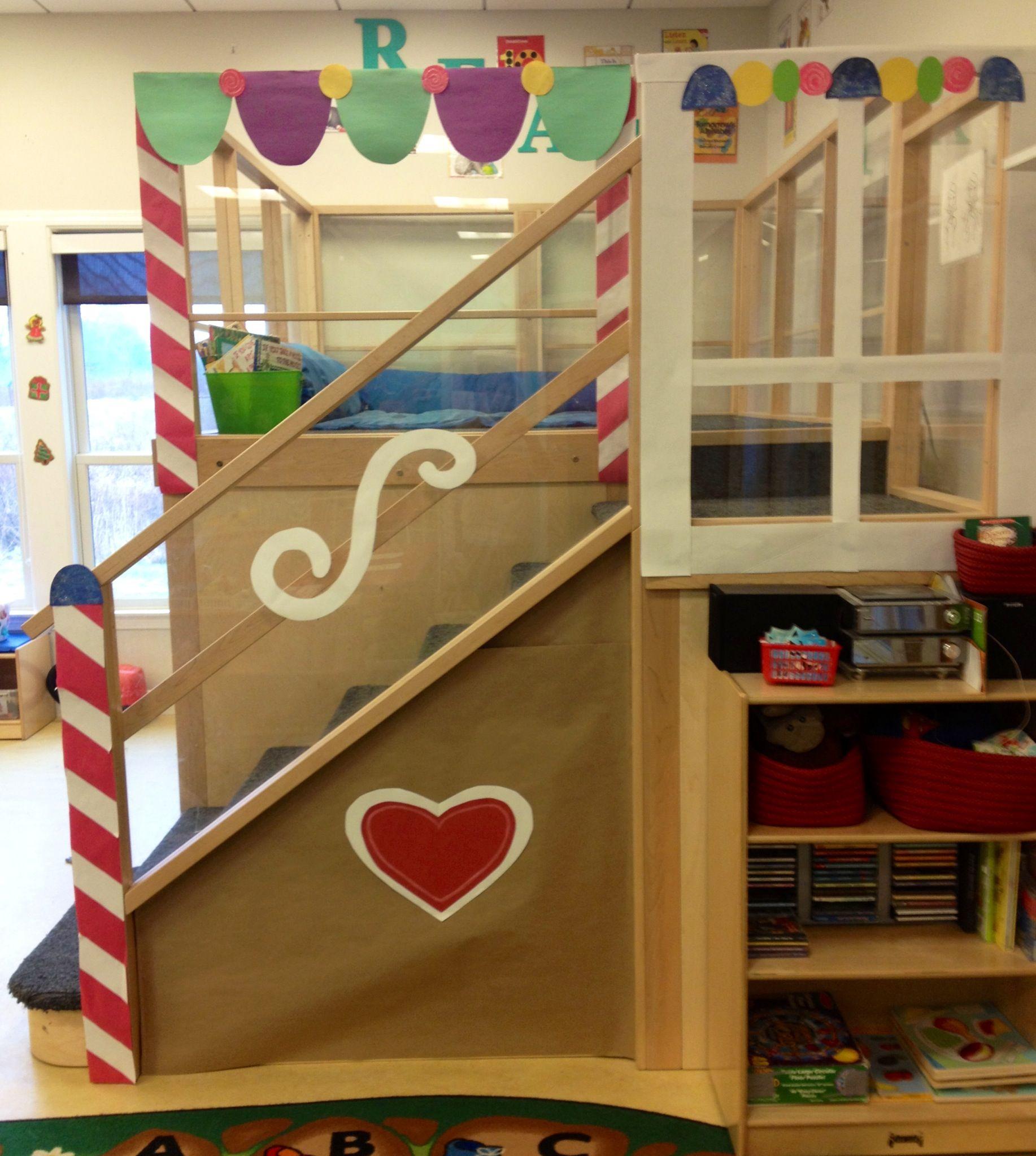Preschool Classroom Gingerbread House