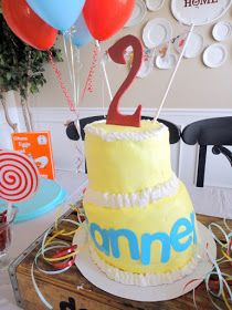 our life...: Tanner's Dr. Suess Party