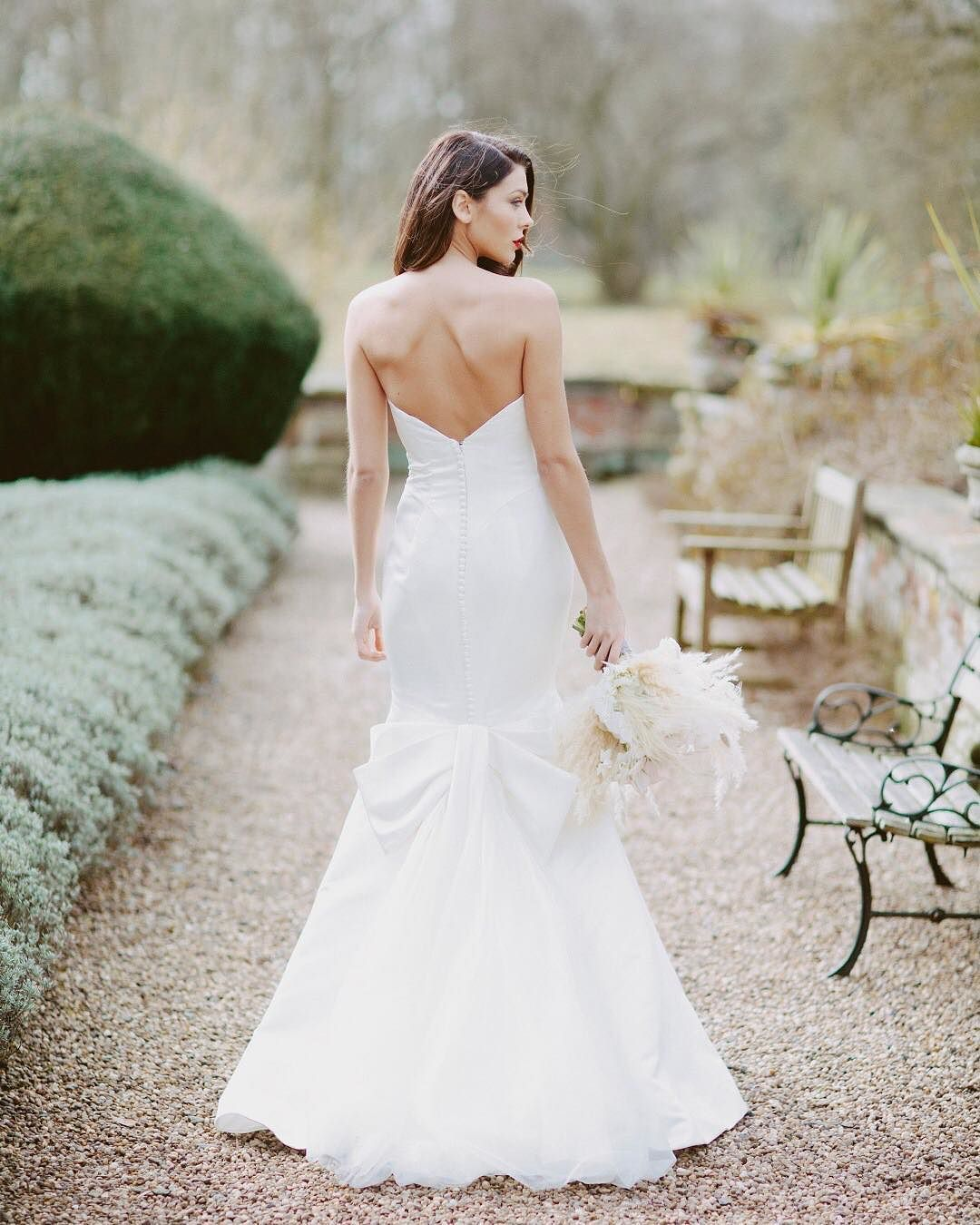 Tietheknot appropriate wedding dress from the